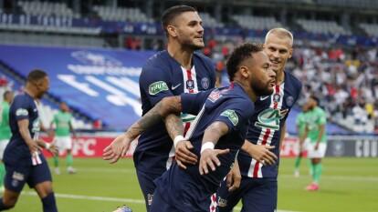 ¡De la mano de Neymar, PSG levanta la Copa de Francia! | Con gol del astro brasileño, derrotaron al St Etienne por la mínima diferencia.
