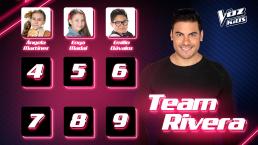 Conoce a los primeros participantes que eligieron ser parte del Team Rivera