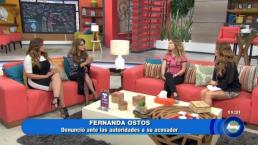 Tras sufrir acoso ¡Fernanda Ostos hace este llamado!