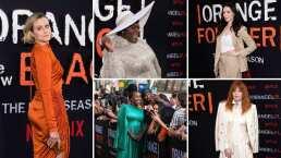 El elenco de The Orange Is The New Black brilla en la premier del final de la serie
