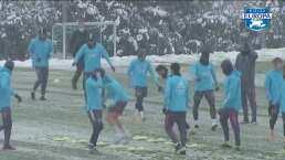 Fuertes nevadas ponen a equipos españoles en apuros