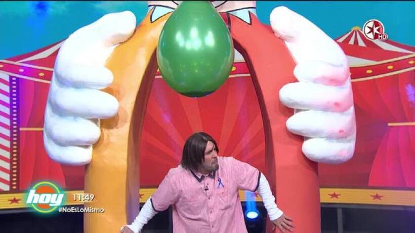 El globo de 'Ya te cargó el payaso' estayó de forma implacable