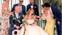 Érika Zaba vive boda de ensueño