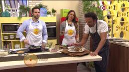 Cocina Chef Oropeza Tacos de arrachera con nopal