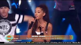 Ariana Grande se presentó en México con gran éxito