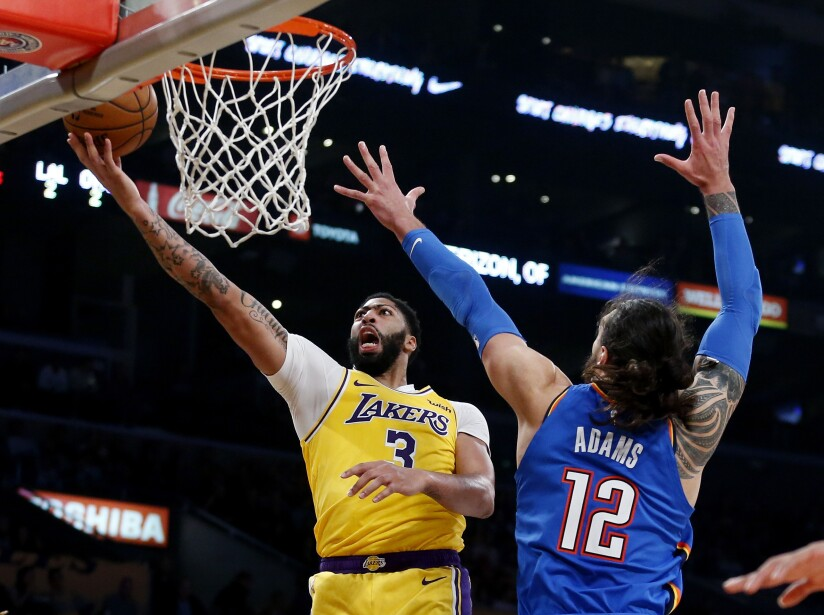 LA Lakers – Oklahoma City Thunder