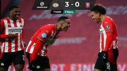 PSV golea al Twente con 10 minutos de Érick Gutiérrez