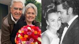 Eric del Castillo vuelve con su esposa al lugar donde le pidió que fueran novios y celebran su aniversario
