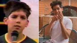 Así se veía Mauricio Garza hace 17 años cuando era un niño participando en Código F.A.M.A.