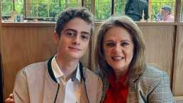 Hijo de Erika Buenfil enamora a sus fans con sus pasos de bachata al ritmo de Aventura