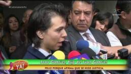 Joao Aguilera, hijo no reconocido de Juan Gabriel, pide nulidad del testamento