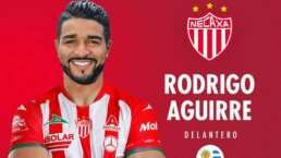 Necaxa anuncia fichaje de Rodrigo Aguirre