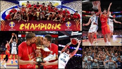 Después de 13 años, España gana con autoridad a Argentina.
