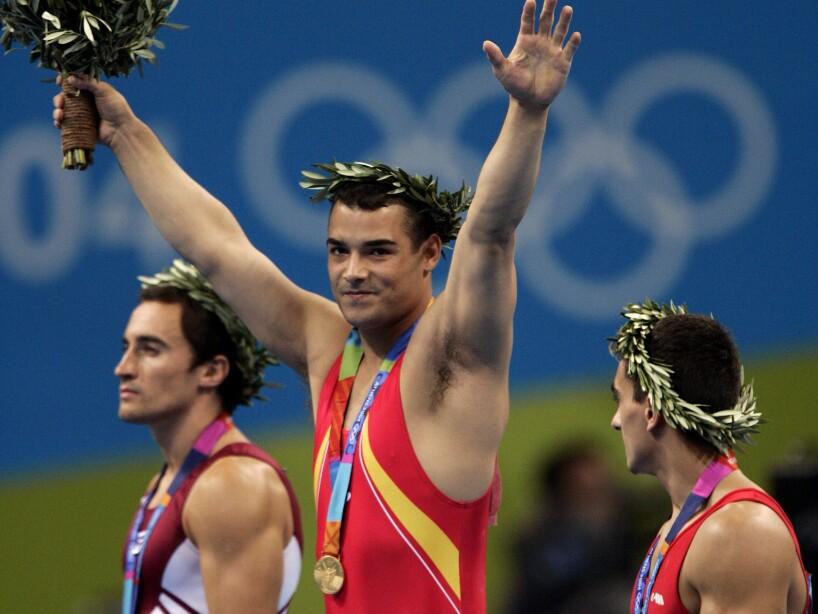 GREECE OLYMPICS GYMNASTICS