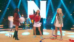 Renata Notni, Zel y Mariana se convirtieron en porristas