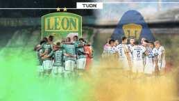 Pumas y León, los finalistas invictos en casa