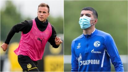 Ambos conjuntos han estado entrenando bajo las medidas sanitarias debidas en el retorno del futbol en Alemania.