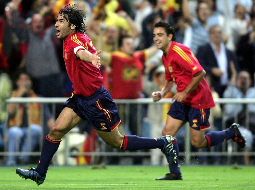 World Cup Qualifier 2006 Spain v Serbia Montenegro