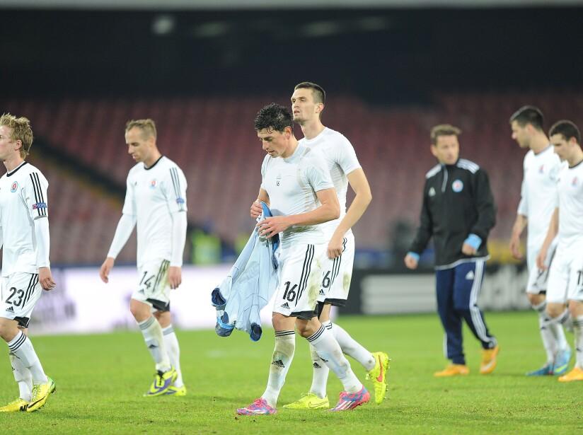 SSC Napoli v SK Slovan Bratislava - UEFA Europa League