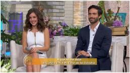 Camila Sodi y Osvaldo Benavides en HOY