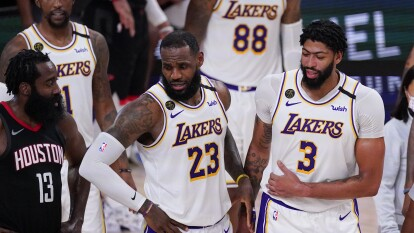 LeBron, Doncic y Davis, los más 'taquilleros' en los jerseys | Este es el Top de las camisetas más venidas de los jugadores de la NBA entre julio y septiembre.