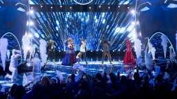 Minotauro, Conejo, Camaleón, Catrina y Zorro cantan juntos por primera vez en ¿Quién es la Máscara?