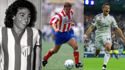 Estos son los jugadores mexicanos que han participado en el Derbi Madrileño.