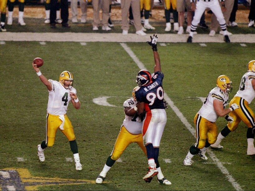 Brett Favrer Packers