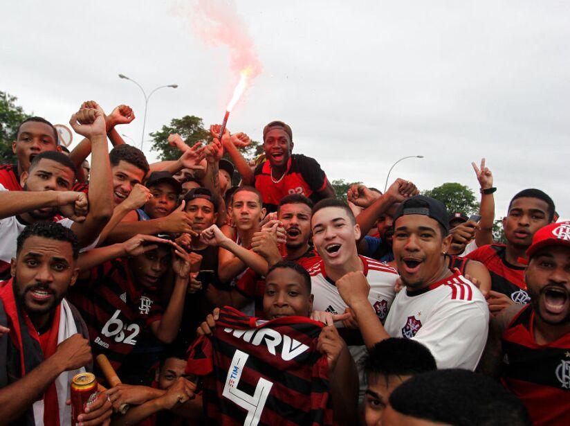Flamengo Travel To Lima For Copa CONMEBOL Libertadores 2019 Final Against River Plate