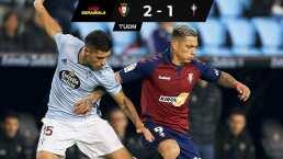 Celta de Vigo se complica la vida tras caer ante Osasuna