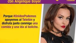 ¡Cumple tu sueño, come y disfruta del boliche con Angelique Boyer!