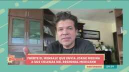 Jorge Medina arremete contra artistas que asisten a fiestas durante la pandemia y los llama 'covidiotas'