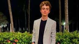 Hijo de Erika Buenfil cambia de look y fans afirman: 'Pareces un muñeco'