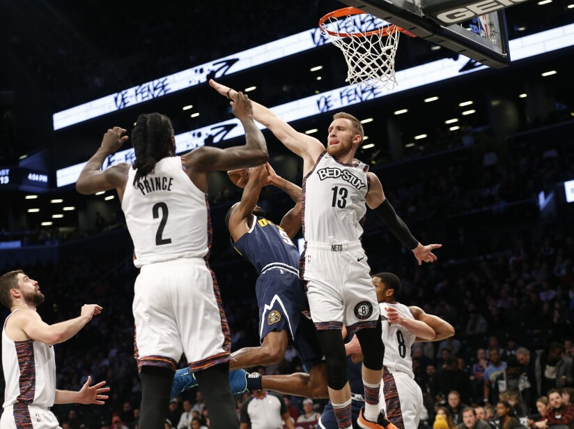Nuggets Nets Basketball