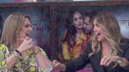 Así reaccionó Andrea Legarreta con la primera aparición de su hija Nina en la telenovela 'Te Acuerdas de Mí'