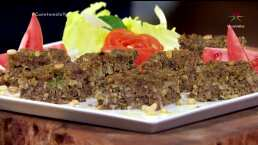 RECETA: Pastel de carne árabe