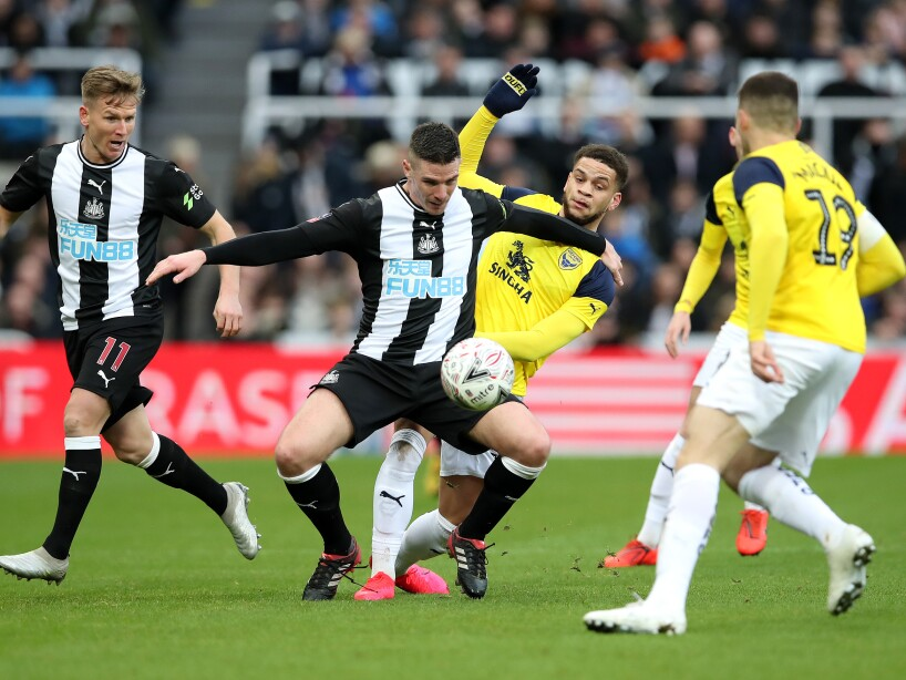 Newcastle United v Oxford United - FA Cup Fourth Round