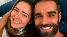 Ariadne Díaz 'espía' a Marcus Ornellas mientras revisa su celular: 'Nada que ocultar'