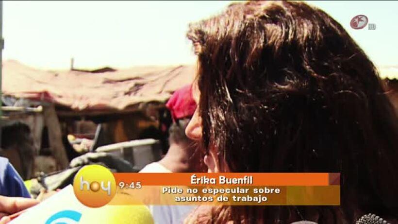 Erika Buenfil no abandonará La Gata