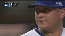 ¡Qué grandes! Los mexicanos brillan en la lomita para Dodgers