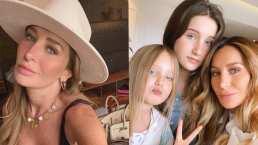 Las tres mosqueteras: Geraldine Bazán compartió un video de sus hijas cuando eran pequeñas