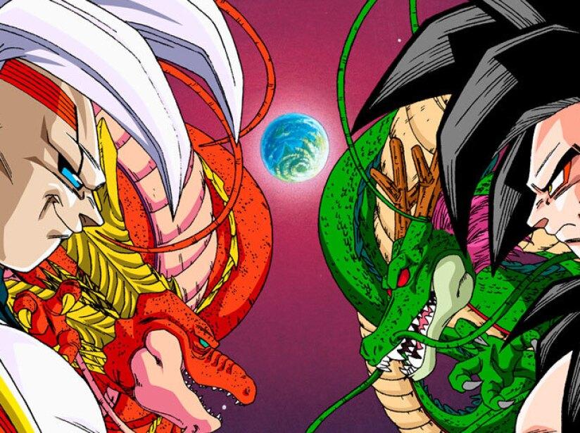 Inicia cuando Pilaf logra encontrar las Esferas del Dragón de Estrella Negra y convierte a Son Gokú en un niño.
