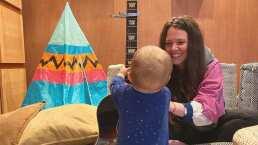 'Le llegó tanto a Noah que hasta lloró': Joy Huerta comparte tierno video cantando desde su casa