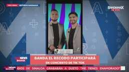 Banda El Recodo participará en concierto de TikTok