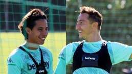 """Guardado es baja y Lainez """"está bien"""" para enfrentar al Atlético"""