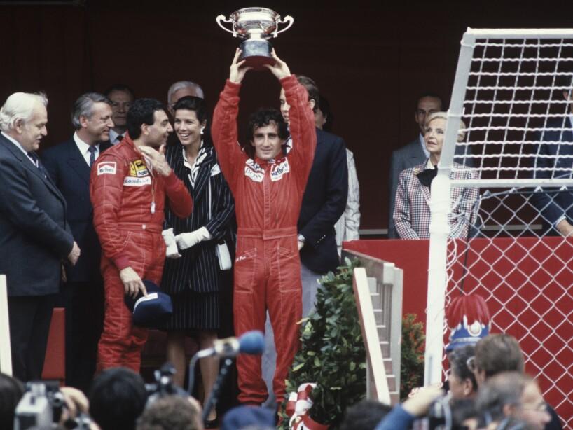 Alain Prost, Winner Of Formula 1 Monaco Grand Prix