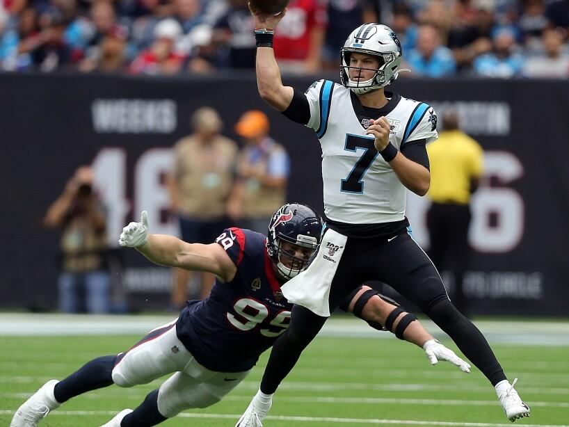 Carolina Panthers vHouston Texans