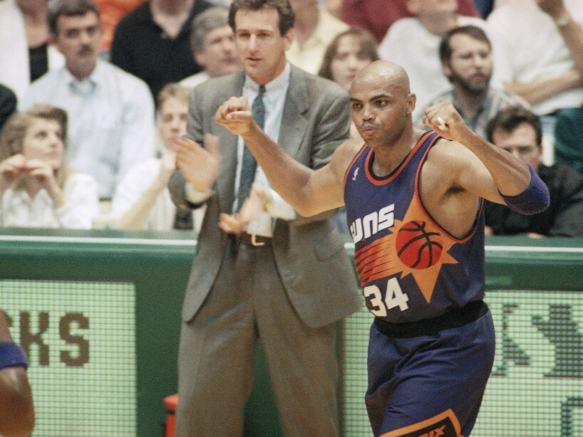 NBA Playoffs Suns Sonics '93
