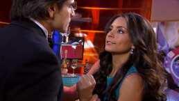 ¡María Alejandra cachetea a Octavio!