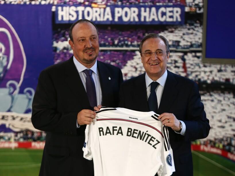 Rafael Benitez, Florentino Perez